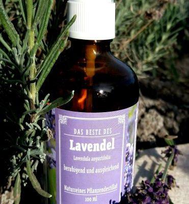 Lavendel naturreines Pflanzendestillat